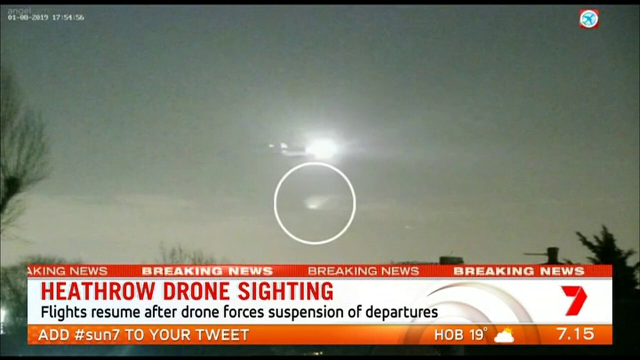 The West Australian Aviation Editor Geoffrey Thomas talks about the latest drone incident in London
