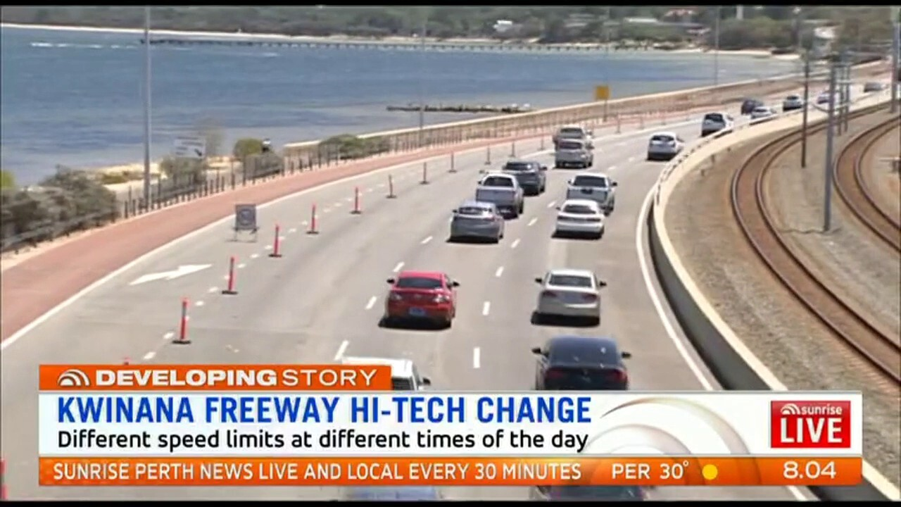 """Work has begun on WA's first so-called """"smart freeway"""", in an aim to reduce congestion"""