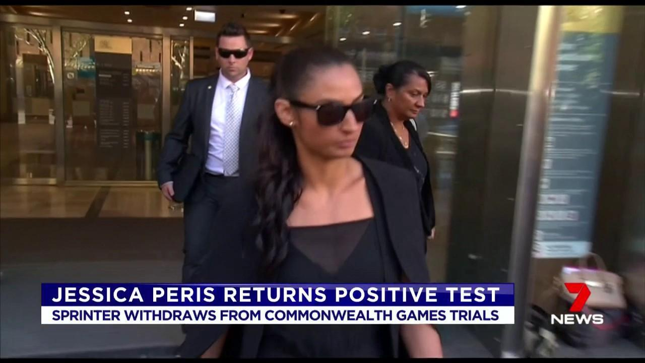 Jessica Peris returned a positive test and has withdrawn from the Commonwealth Games.