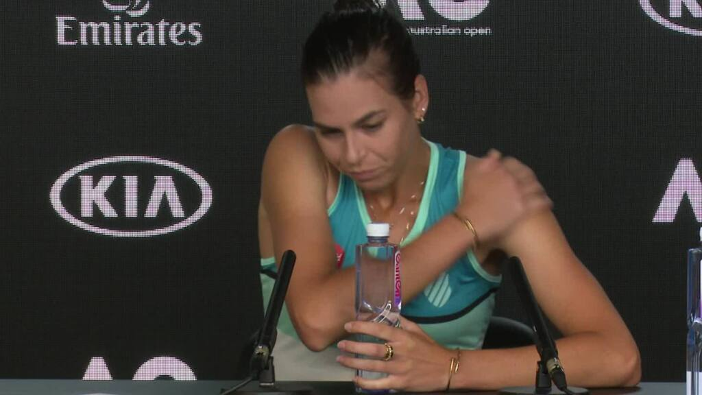 Image result for ajla tomljanovic aus open 2020 press conference