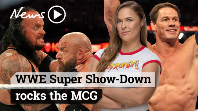 WWE Super Show-Down rocks the MCG