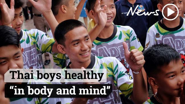 Thai cave rescue: Boys were 'handcuffed, drugged with ketamine'