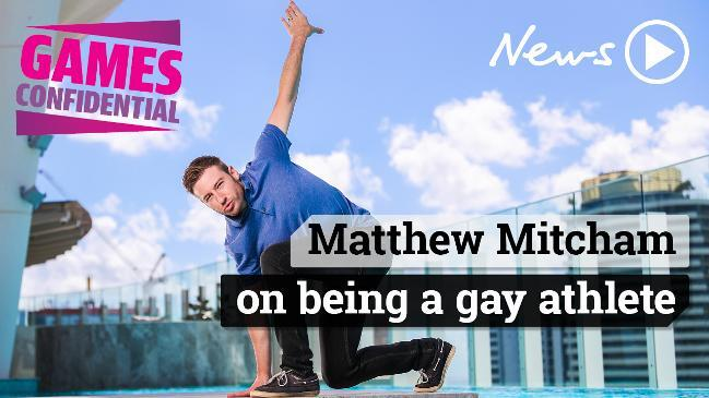 Matthew Mitcham on being an openly gay athlete