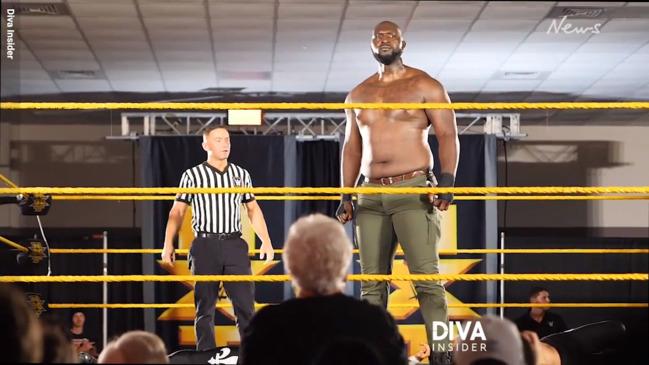 Giant Jordan Omogbehin is the tallest WWE star in 26 years