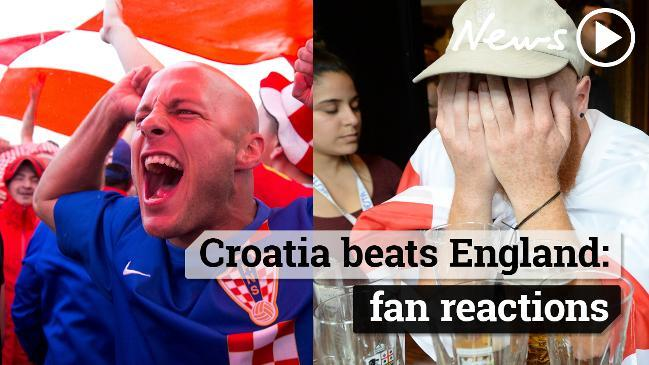 aa5d671a7 World Cup FIFA 2018  Luka Modric magic predicted in Croatian flag
