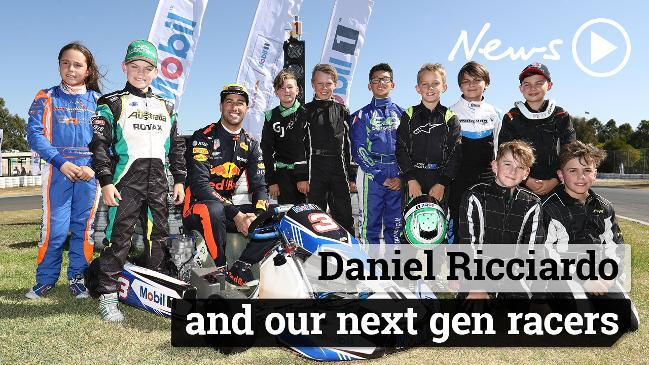 Daniel Ricciardo and our next gen racers