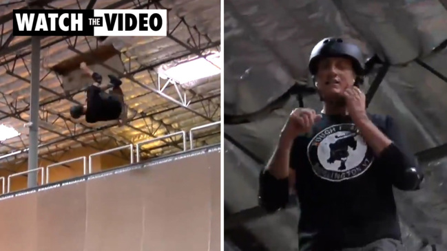 A 52-year-old Tony Hawk has still got it