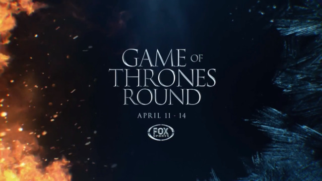 Game of Thrones NRL round