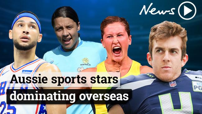 Australian sports stars dominating overseas