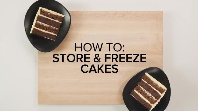 Wondrous How To Freeze Cakes Personalised Birthday Cards Akebfashionlily Jamesorg