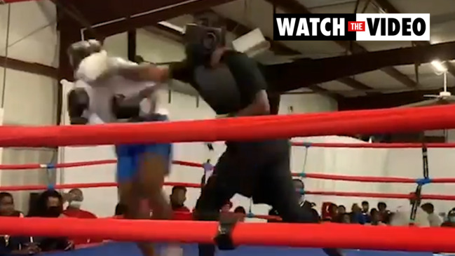 Brutal boxing debut stuns internet