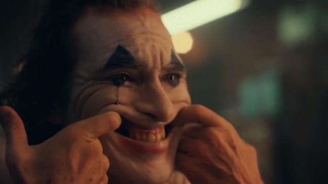 Iconic scene from Joker