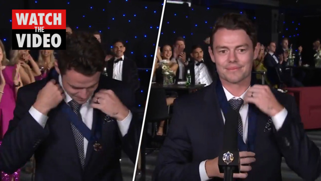 Lachie Neale wins the 2020 Brownlow Medal (7 Sport)