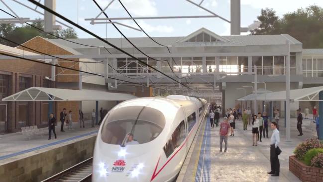 Sydney public transport: NSW Government unveils high speed rail plan
