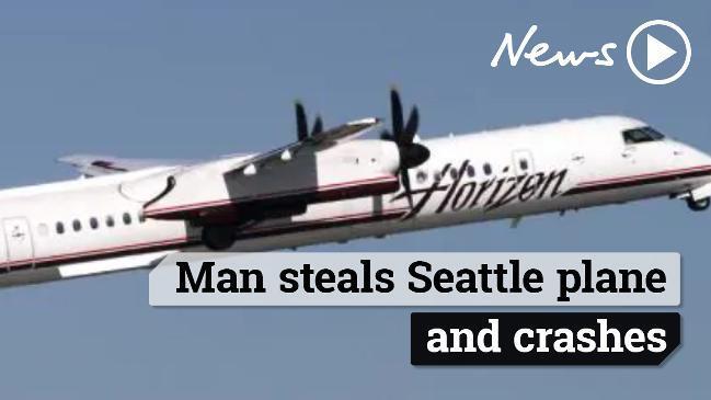 Air Q400: Stolen plane crashes near Seattle