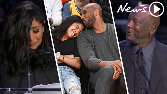 Kobe and Gianna memorial: Emotional tributes rock the Staples Center