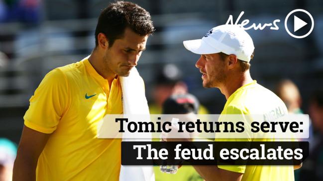 Aussie tennis saga: Tomic vs Hewitt