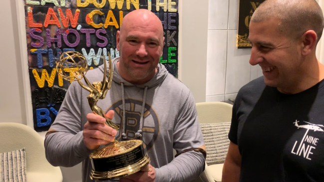 UFC boss Dana White's tour of the 'Coolest Office in the World'