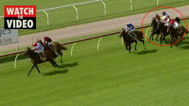 Jockey injured in fall at Newcastle races