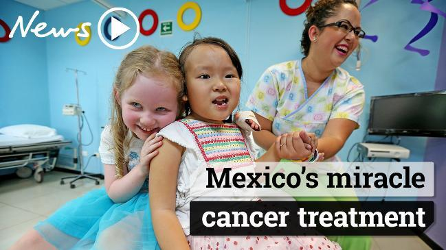 Brain cancer: Australian kids find treatment for DIPG in Mexico