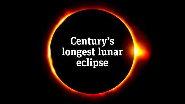 Lunar eclipse Australia 2019: Images, photos