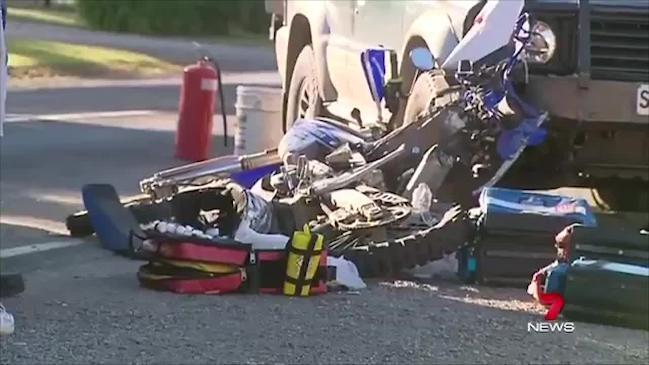 Fatal motorcycle crash in Kangarilla | The Advertiser