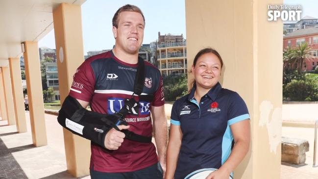 Jake Trbojevic and cousin Mikaela on her NSW Waratahs ambitions