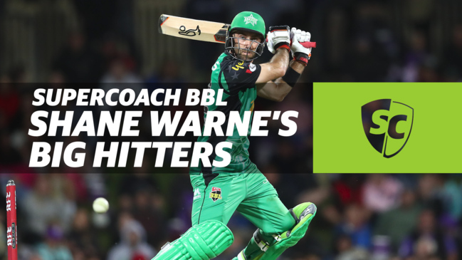 SuperCoach BBL: Shane Warne's Big Hitters