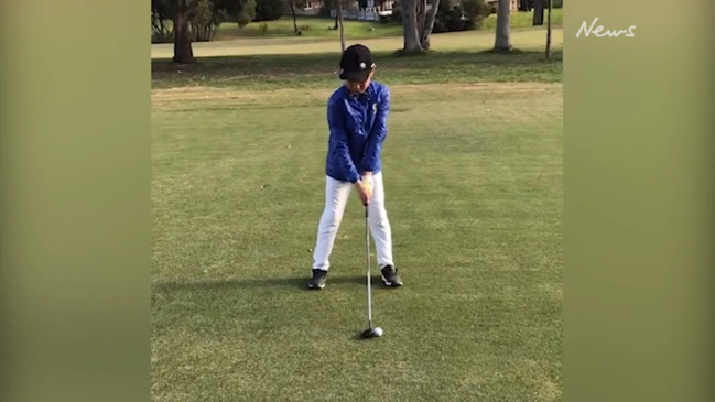 Steven Wang golf swing