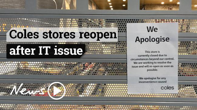 Coles Online down: Retailer blames 'internal software issue'