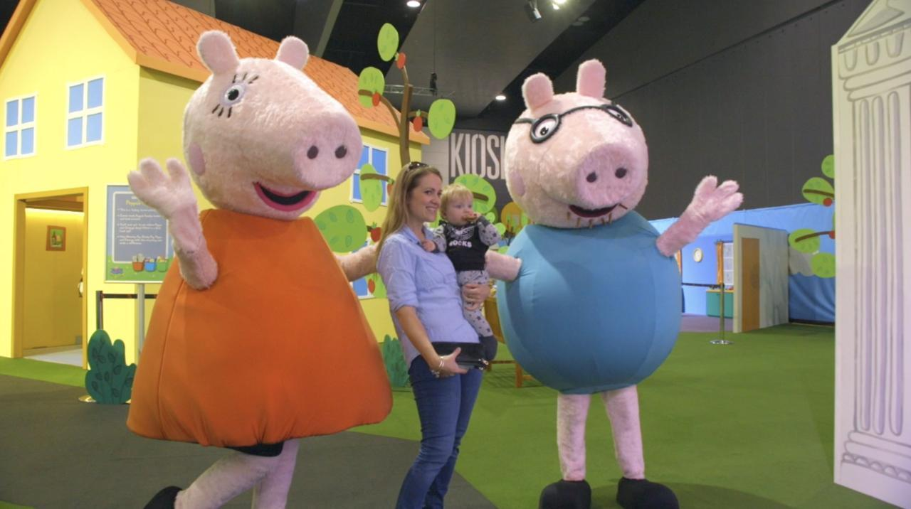 Peppa Pig Playdate Tour Sydney Melbourne Brisbane Adelaide 2017