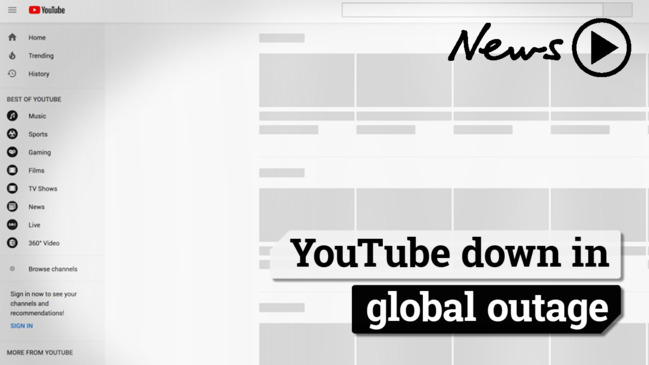 YouTube outage: Video streaming website fixed, restored
