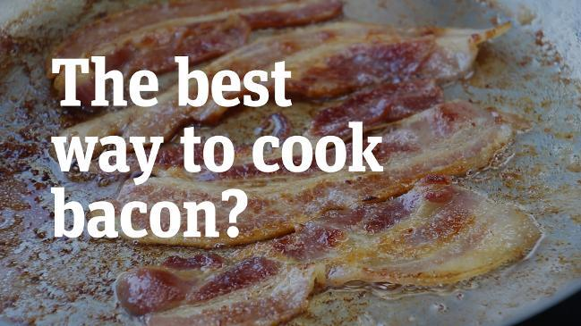 How to cook crispy bacon: Should you fry bacon in water?