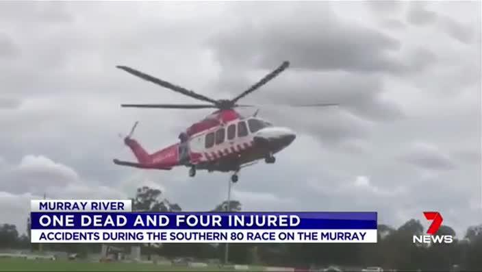 Southern 80: Injuries in ski race on Murray River as people
