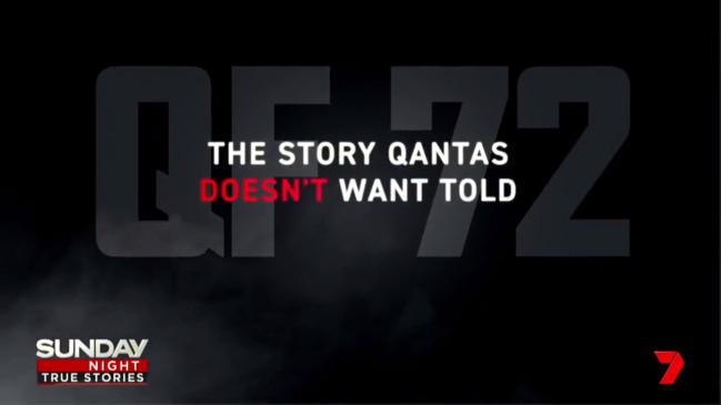 Qantas: Sunday Night investigates Flight QF72 plane crash