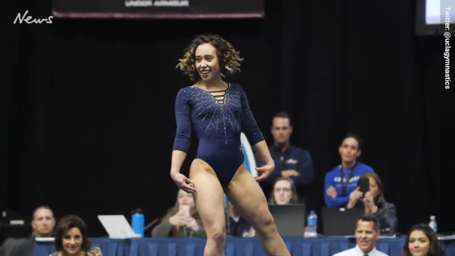 Katelyn Ohashi rocks internet with another perfect 10