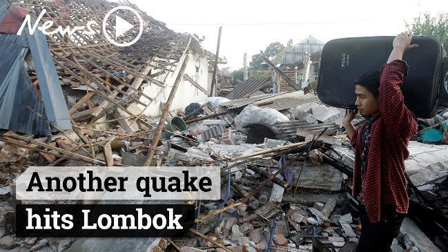 Second Lombok earthquake: 6 2 quake hits Indonesian island