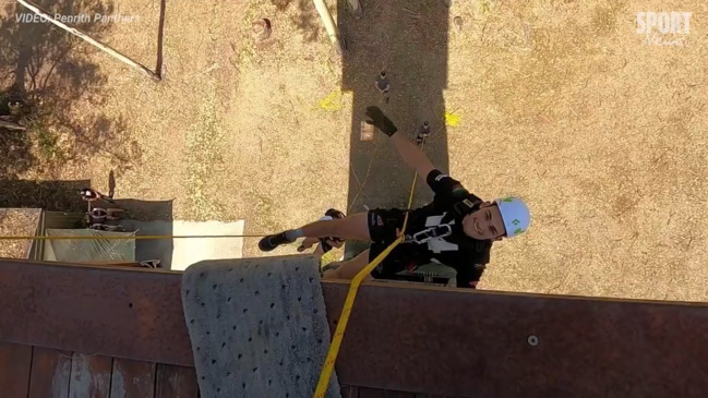 Penrith Panthers push their boundaries at army camp