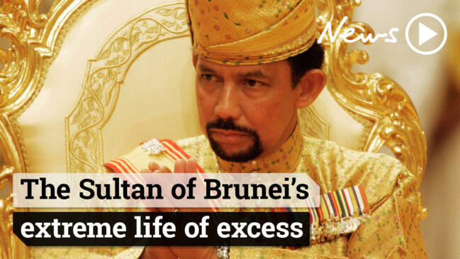 World's richest men: Sultan of Brunei leads a lavish life