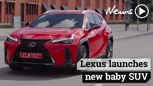 Lexus UX: Small luxury SUV brings hybrid technology