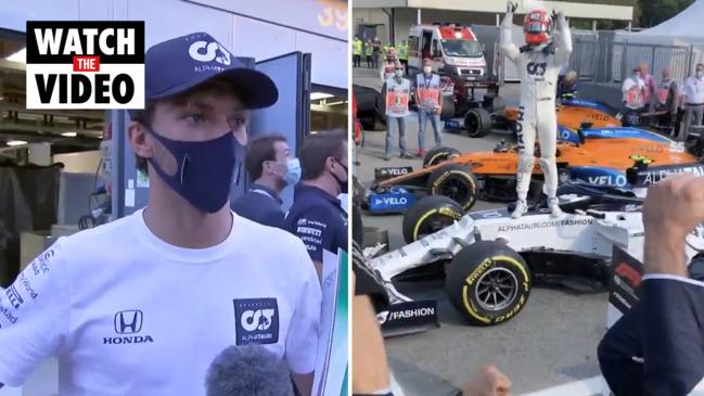Pierre Gasly wins chaotic 2020 Italian F1 Grand Prix