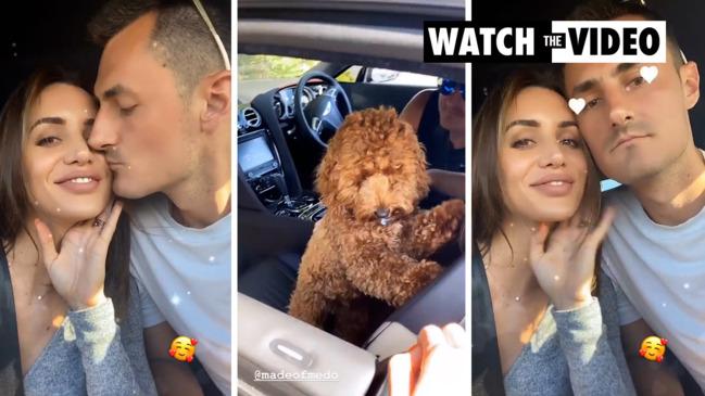 Bernard Tomic and Vanessa Sierra go public with relationship on Instagram