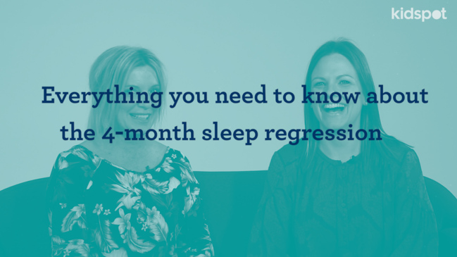 Sleep regression: Sleep patterns for 4 month old babies
