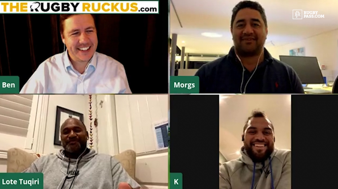 Lote Tuqiri and Karmichael Hunt Origin Special | Rugby Ruckus - Tight Five