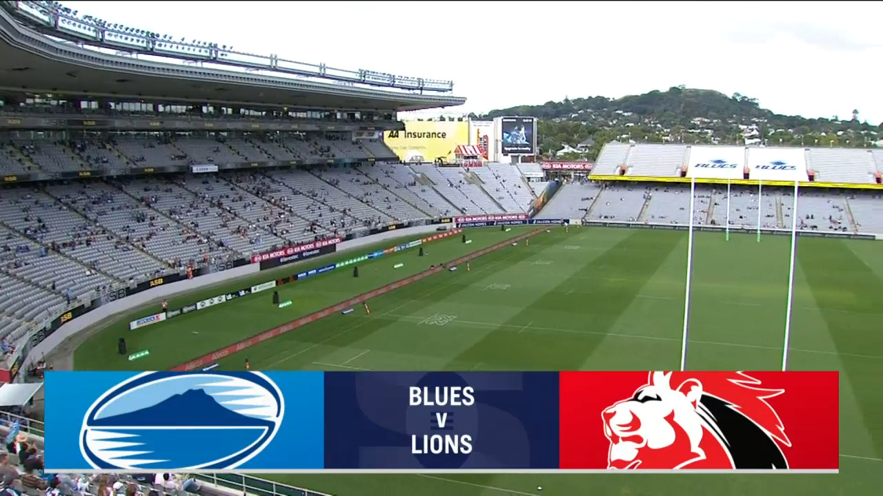 Blues vs Lions I Round 7 I Super Rugby Highlights