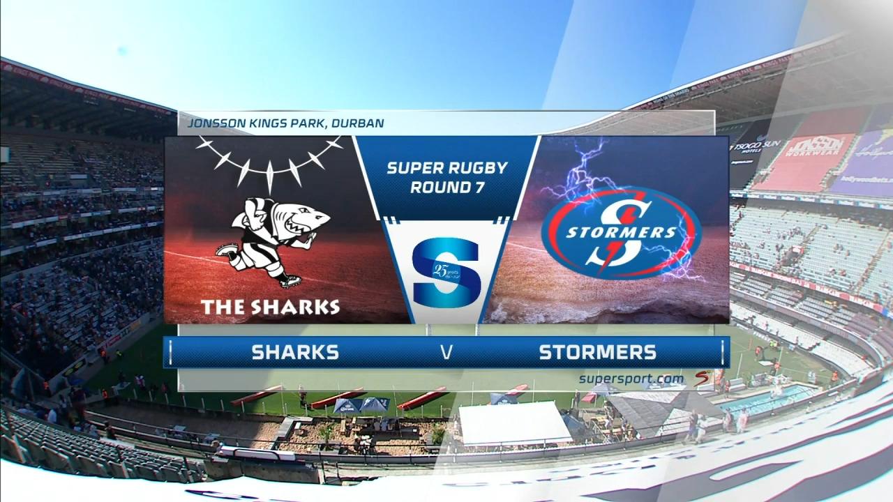 Sharks vs Stormers I Round 7 I Super Rugby Highlights