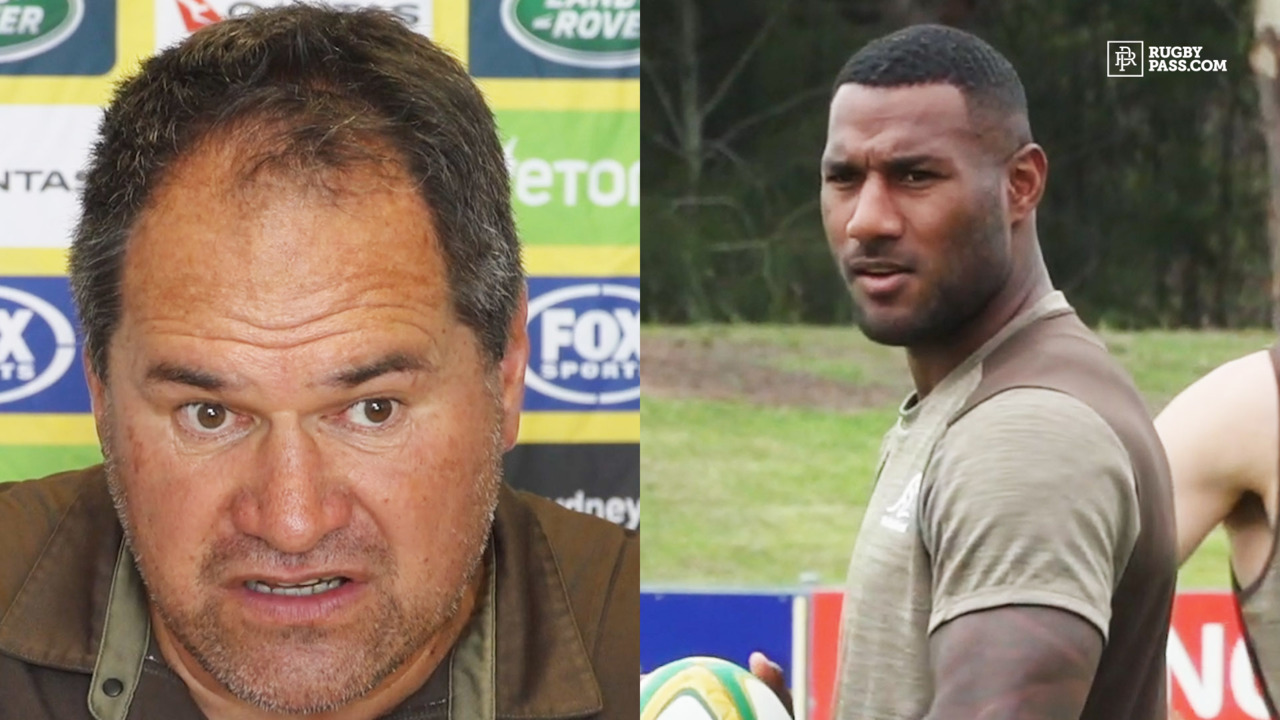 Dave Rennie On Suliasi Vunivalu Joining Wallabies Camp