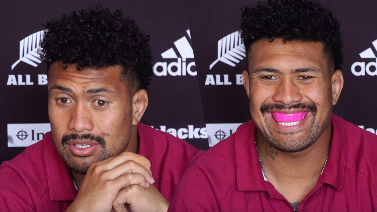 This is how Ardie Savea responded to claims he wasn't wearing a mouthguard