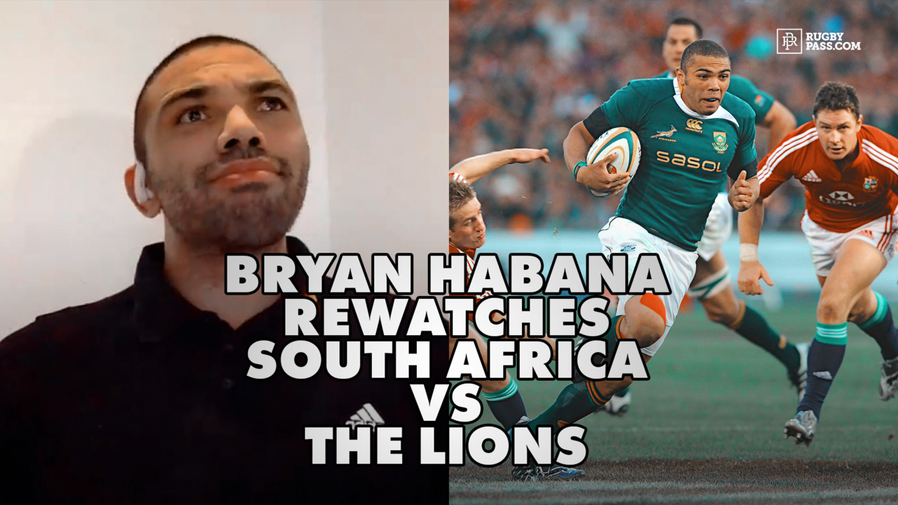 Bryan Habana rewatches South Africa vs The Lions, 2nd test 2009