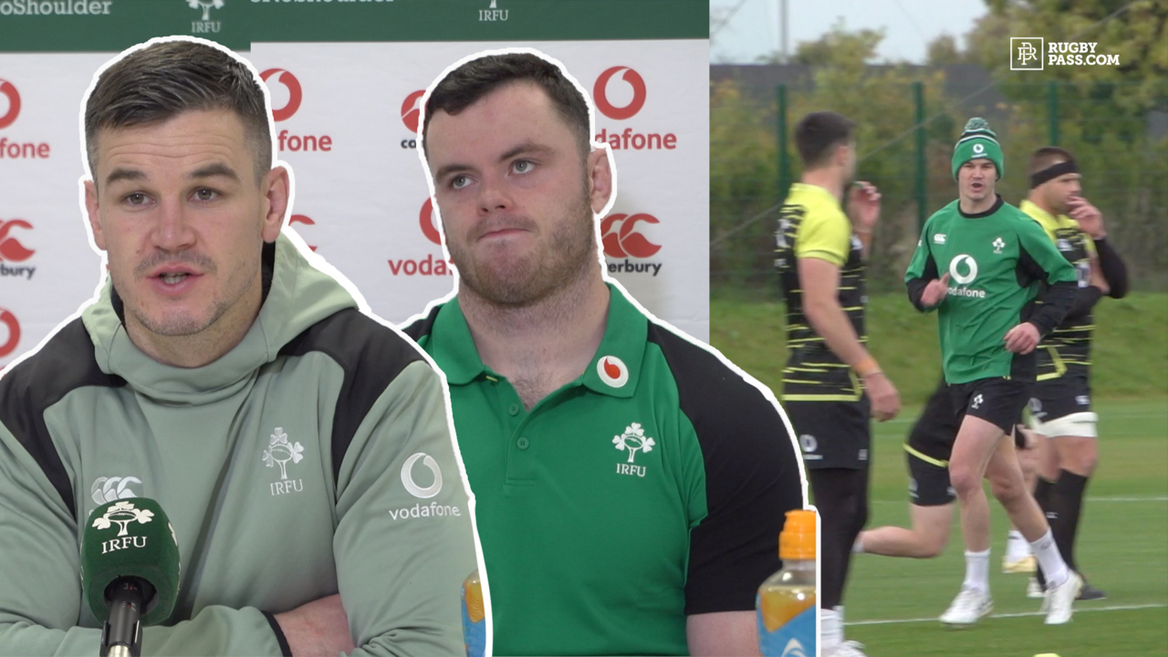 James Ryan and Jonathan Sexton | Ireland vs Italy Press Conference